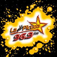 Logo of radio station XHNS La Más Picuda 96.3 FM