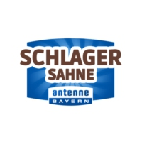 Logo of radio station Antenne Bayern Schlagersahne
