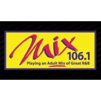 Logo of radio station WMXU Mix 106.1