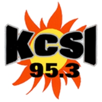 Logo of radio station KCSI Country Sunshine 95.3 FM