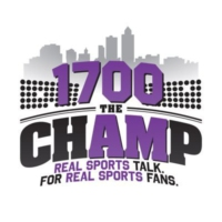 Logo de la radio KBGG 1700 The Champ