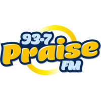 Logo of radio station 93.7 Praise FM CJLT
