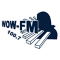 Logo of radio station WOW 100.7 FM