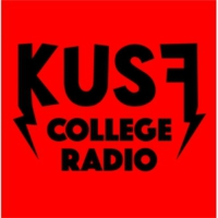 Logo of radio station KUSF