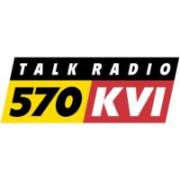 Logo of radio station 570 KVI
