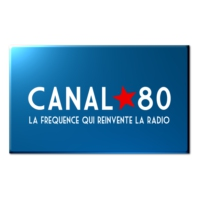 Logo of radio station CANAL 80