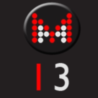 Logo of radio station M13 RADIO