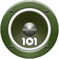 Logo of radio station 101.ru - Военная Песня
