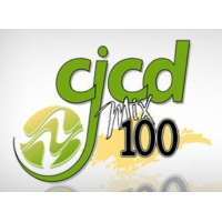 Logo de la radio CJCD Mix 100