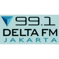Logo of radio station Delta FM 99.1