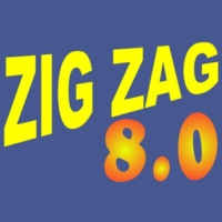 Logo of radio station Zig Zag 8.0