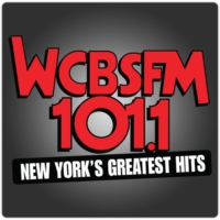 Logo of radio station WCBS FM 101.1