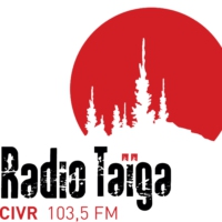 Logo of radio station CIVR-FM Radio Taïga