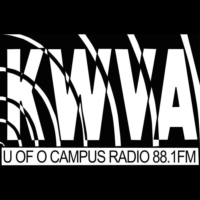 Logo of radio station KWVA 88.1 FM
