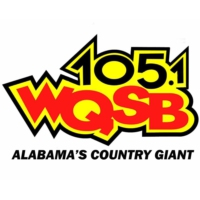 Logo of radio station WQSB 105 FM