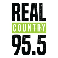 Logo de la radio CKGY-FM Real Country 95.5