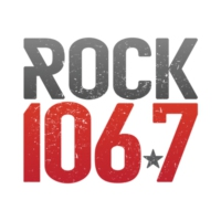 Logo of radio station KAAZ-FM Rock 106.7