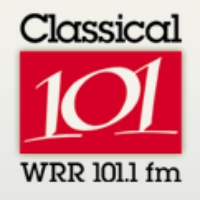 Logo of radio station WRR 101.1 FM