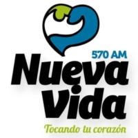 Logo of radio station XEBJB Nueva Vida 570 AM