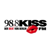 Logo de la radio 98.8 KISSFM #tunning beats