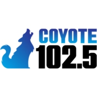 Logo of radio station KIOT  Coyote 1025