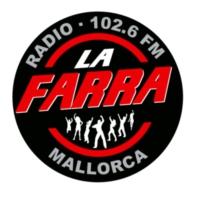 Logo of radio station La Farra Radio