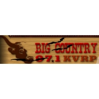 Logo of radio station KVRP Big Country 97.1 FM