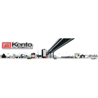 Logo of radio station FM Kento