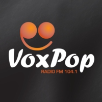 Logo of radio station VoxPop Radio 104.1 FM