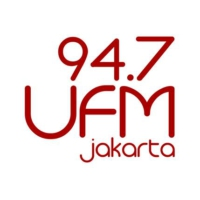 Logo of radio station UFM 94.7 FM