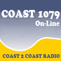 Logo of radio station Coast 107.9