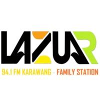 Logo de la radio Lazuar 94.1 FM Karawang