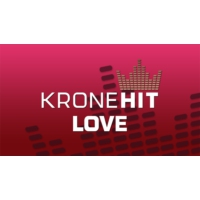 Logo of radio station KroneHit love
