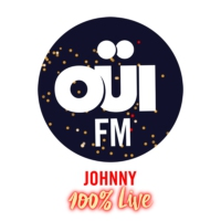 Logo de la radio OUI FM Johnny 100% Live