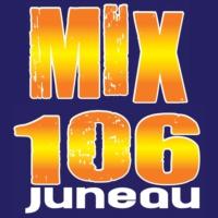 Logo of radio station KSUP-FM MIX 106