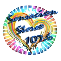 Logo of radio station Sensación Stereo 107.6