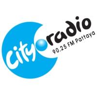 Logo of radio station City Radio Pattaya