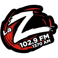 Logo of radio station La Zeta Durango 102.9 FM