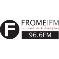 Logo of radio station FromeFM