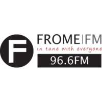 Logo of radio station FromeFM