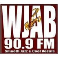 Logo of radio station WJAB 90.9 FM