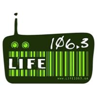 Logo of radio station Life 106.3 FM