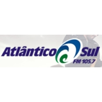 Logo of radio station Atlantico Sul FM 105.7