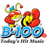Logo of radio station B-100
