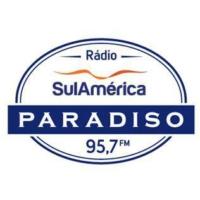 Logo de la radio SulAmérica Paradiso FM