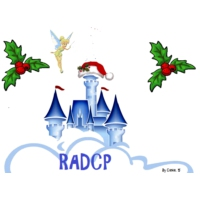 Logo of radio station RADCP, la radio Disney