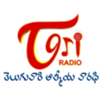 Logo of radio station TeluguOne Radio TORI