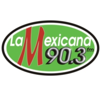 Logo of radio station XHJPA La Mexicana 90.3 FM
