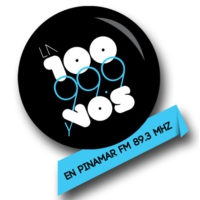 Logo of radio station LA 100 Pinamar