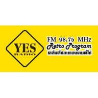 Logo of radio station Yes Radio 98.75